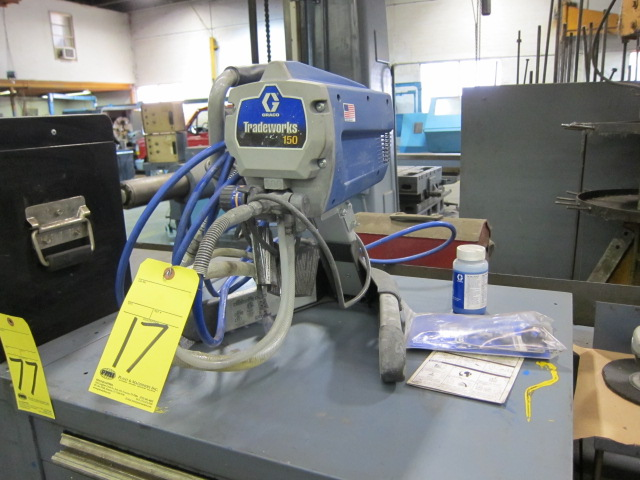 Lot 17 - ELECTRIC AIRLESS SPRAYER, GRACO TRADEWORKS 150