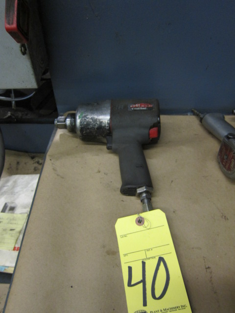Lot 40 - IMPACT WRENCH, INGERSOLL RAND 3/4""