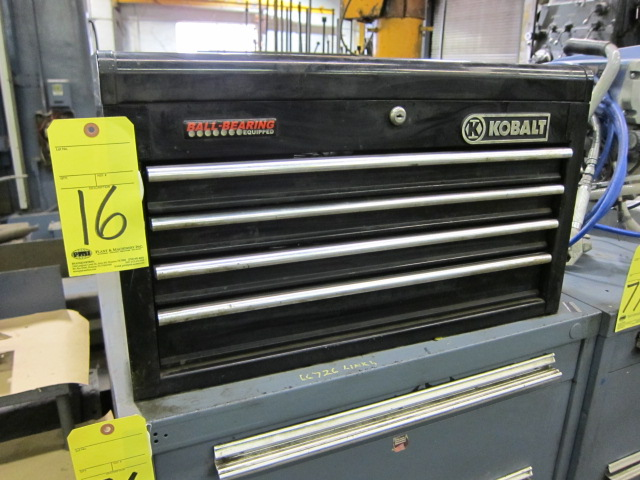 Lot 16 - TOOLBOX, KOBALT, 4-drawer