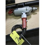 """ELECTRIC DRILL, MILWAUKEE 3/4"""", H.D."""