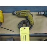 Lot 11 - ELECTRIC DRILL, DEWALT 1/2""