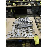 Lot 54 - LOT OF WRENCHES, assorted