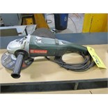 Lot 21 - ANGLE DISC GRINDER, METABO 7""
