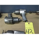 """LOT OF IMPACT WRENCHES (2), INGERSOLL RAND 1/2"""""""