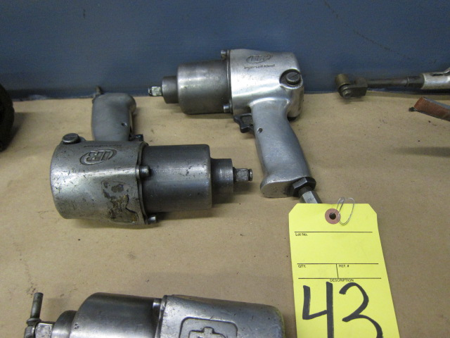 Lot 43 - LOT OF IMPACT WRENCHES (2), INGERSOLL RAND 1/2""