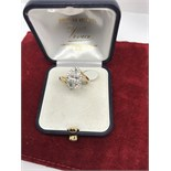 2.02ct MARQUISE DIAMOND SET IN DIAMOND HALO MOUNT 18ct GOLD