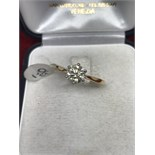 18ct GOLD 1.00ct DIAMOND SOLITAIRE RING