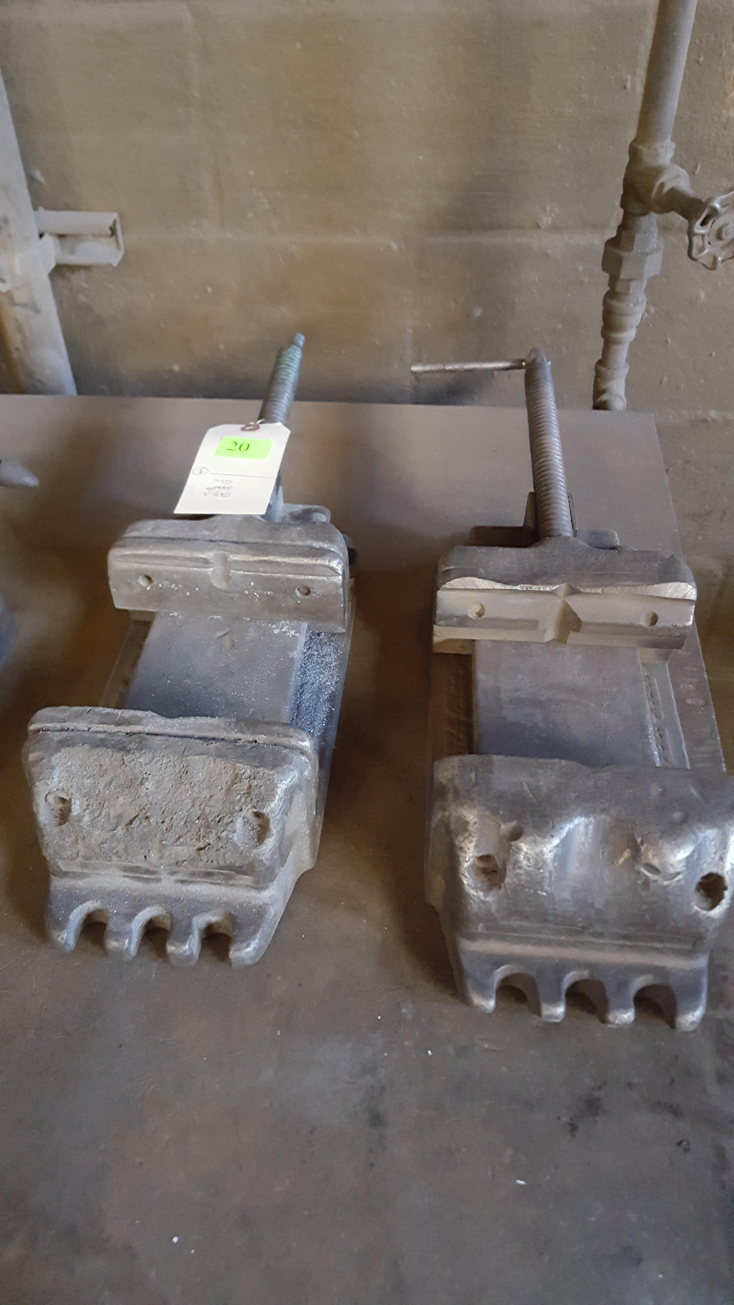 Lot 20 - MD SPEED VISES