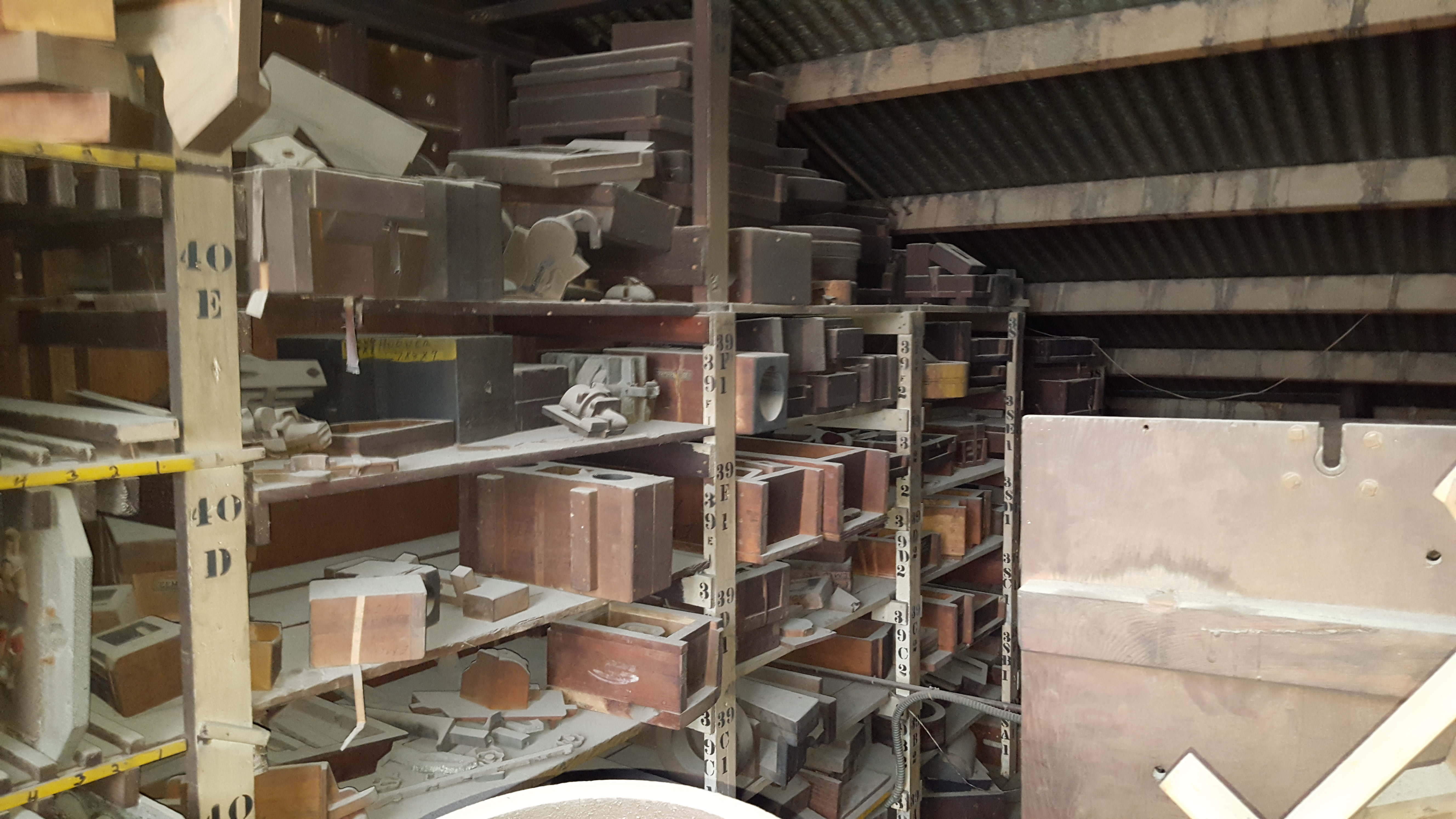 Lot 232 - ALL ASST MOLDS AND CONTENTS UPSTAIRS