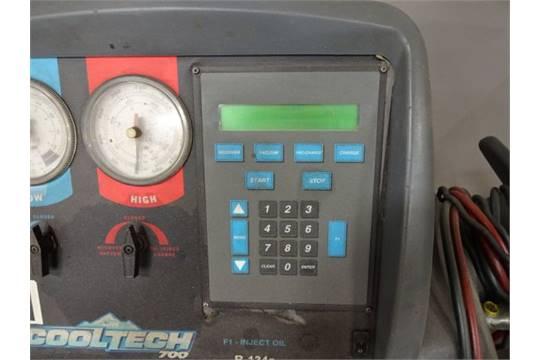 spx robinair model cooltech 700 refrigerant machine rh bidspotter com Robinair Cool-Tech 34700Z robinair cooltech 700 manual pdf