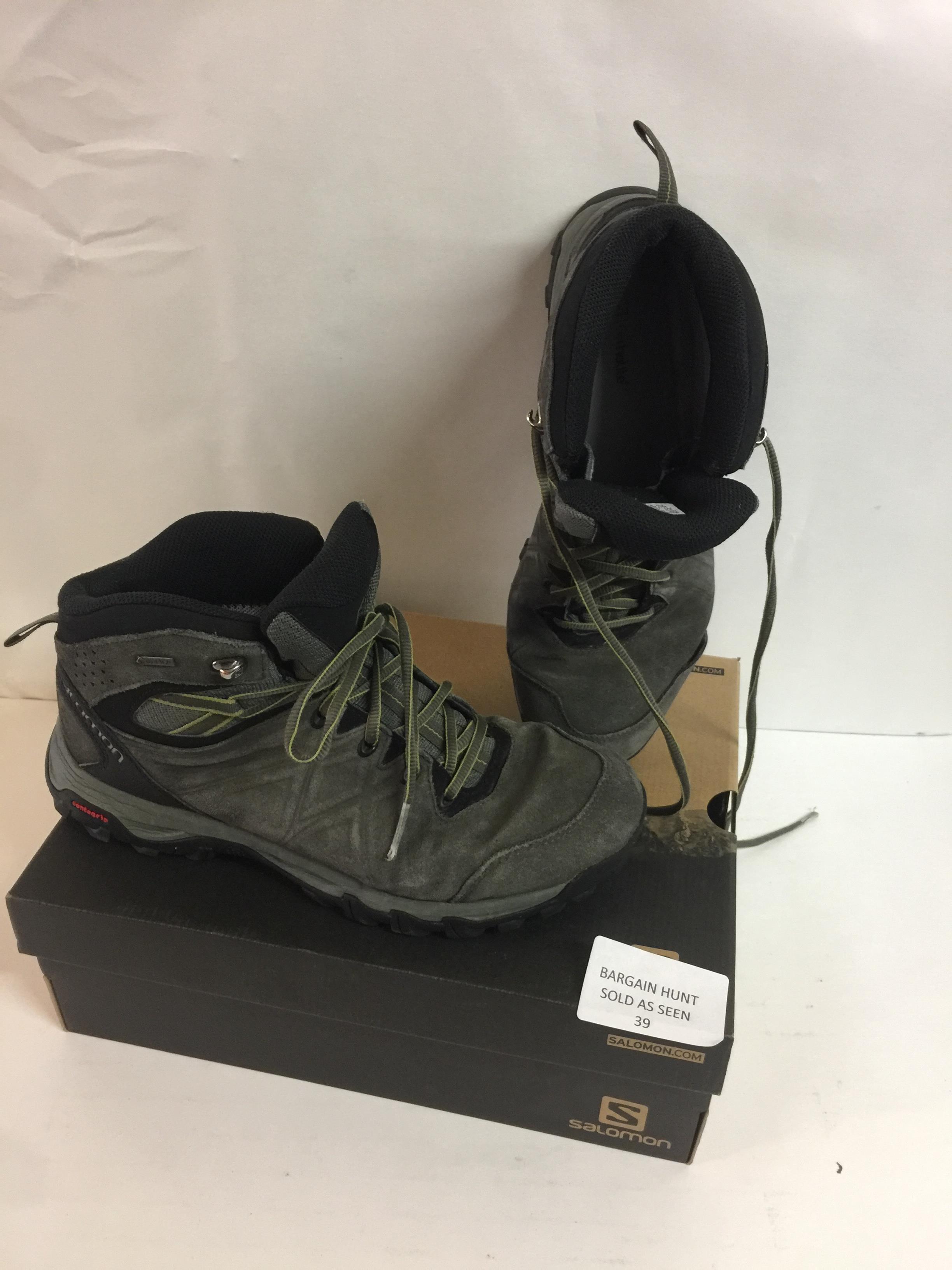 Lot 39 - Salomon Men's EVASION 2 MID LTR GTX Hiking and Multisport Shoes, 9.5 UK RRP £100