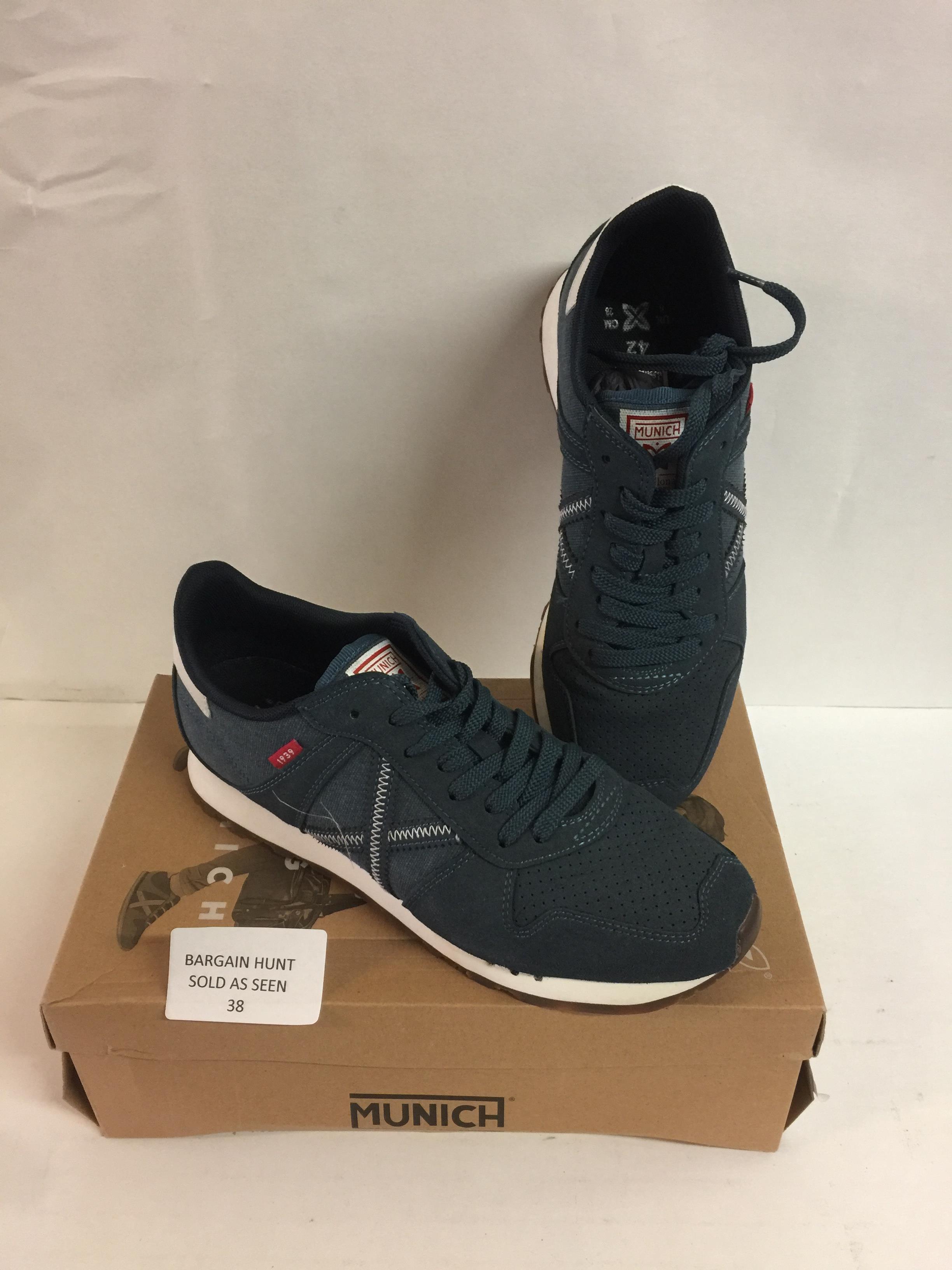 Lot 38 - Munich Massana Shoes, 8 UK