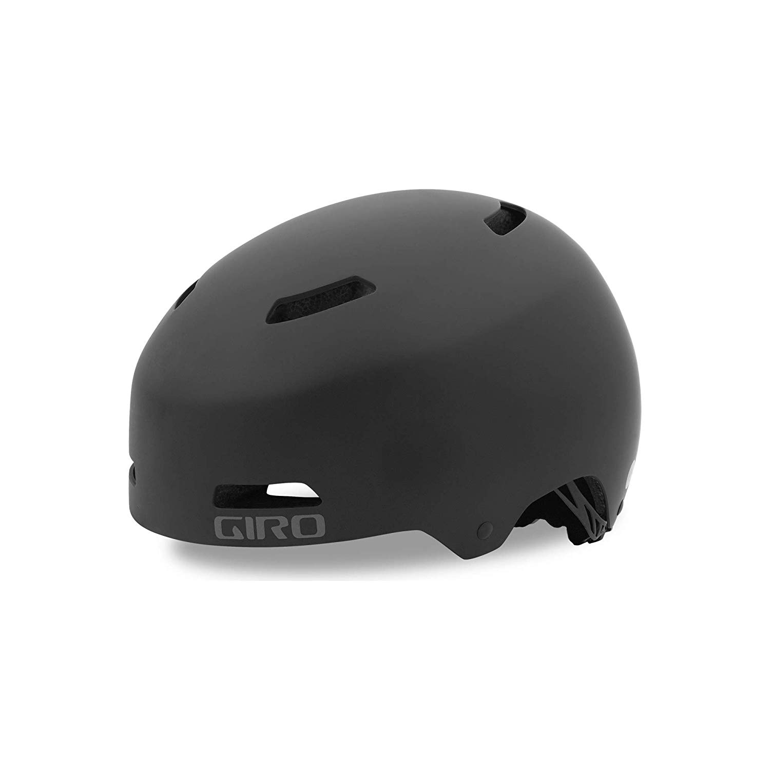 Lot 10 - Giro Unisex's Quarter FS Cycling Helmet, Matt Black, Large (59-63 cm)