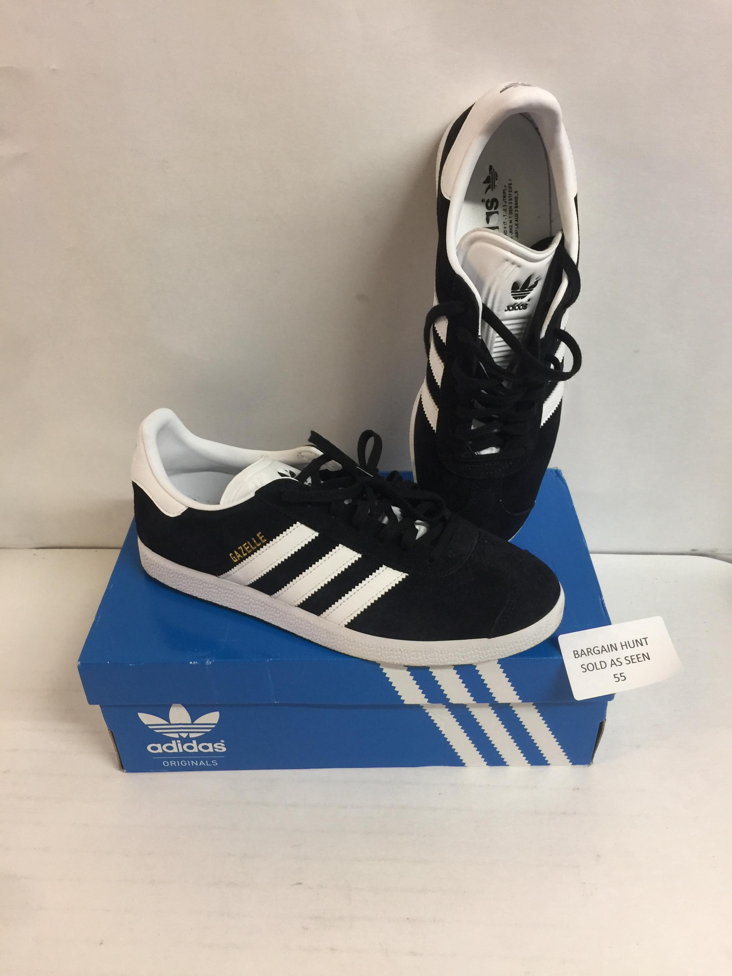 Lot 55 - Adidas Men's Gazelle Multisport Outdoor Shoes, 8 UK