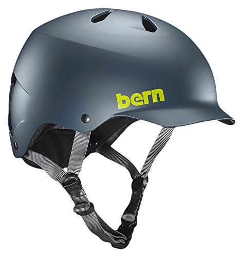 Lot 8 - Bern Unisex's Watts EPS Cycling Helmet, Mutted Teal, Large