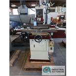 "6"" X 18"" CHEVALIER MODEL FSG-618M HAND FEED SURFACE GRINDER, S/N A3842018, WITH 6"" X 18"" KINJUNG"