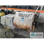 STONE MODEL 1285PM CEMENT MIXER, S/N 122005156, 11 HP HONDA GAS POWERED MOTOR