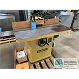 POWERMATIC MODEL #27-SHAPER L/T SHAPER; S/N 0304027116