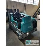 """2015 TENNANT MODEL M20 SWEEPER / SCRUBBER LP GAS, 58"""" CLEANING PATHE, 3,007 HOURS"""