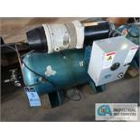 2 H.P. COMPAIR MODEL 10PURS HORIZONTAL TANK MOUNTED AIR COMPRESSOR, 30 GALLON, S/N ....2361