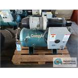 2 H.P. COMPAIR MODEL 10PURS HORIZONTAL TANK MOUNTED AIR COMPRESSOR, 30 GALLON, S/N ....2277