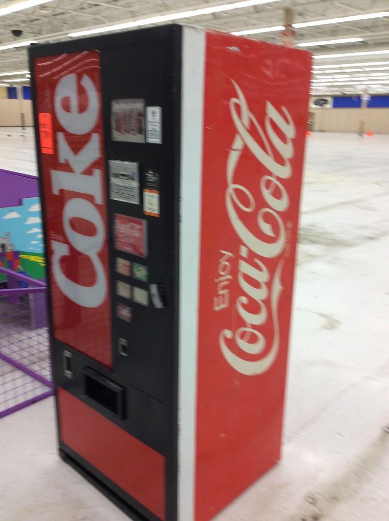 coca cola vending machine key