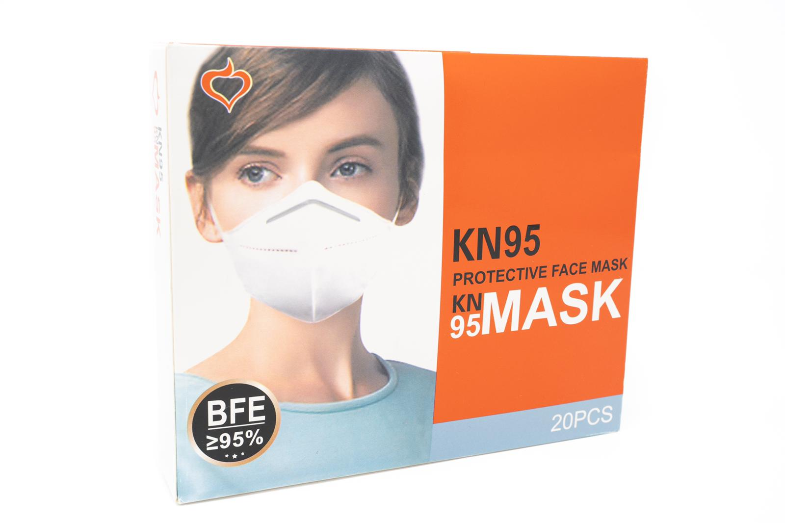 1000 pcs Brand new sealed Kn95 Mask - Image 2 of 3