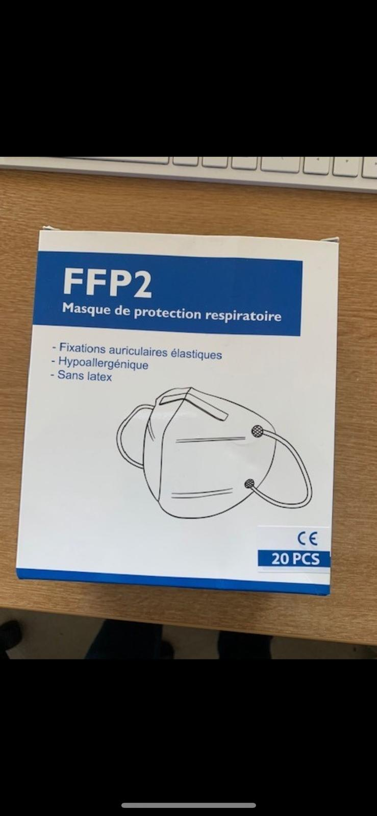 100 pcs Brand new sealed FFP2 mask - Image 2 of 2