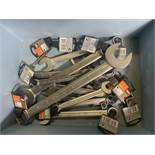 16 x Bahco Combi Spanners