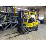 HYSTER 7000 LBS CAPACITY PROPANE FORKLIFT
