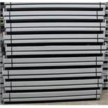 "NEW 120 PCS OF 108"" X 4.5"" KEYSTONE BEAM- 5500 LBS CAPACITY/PAIR"