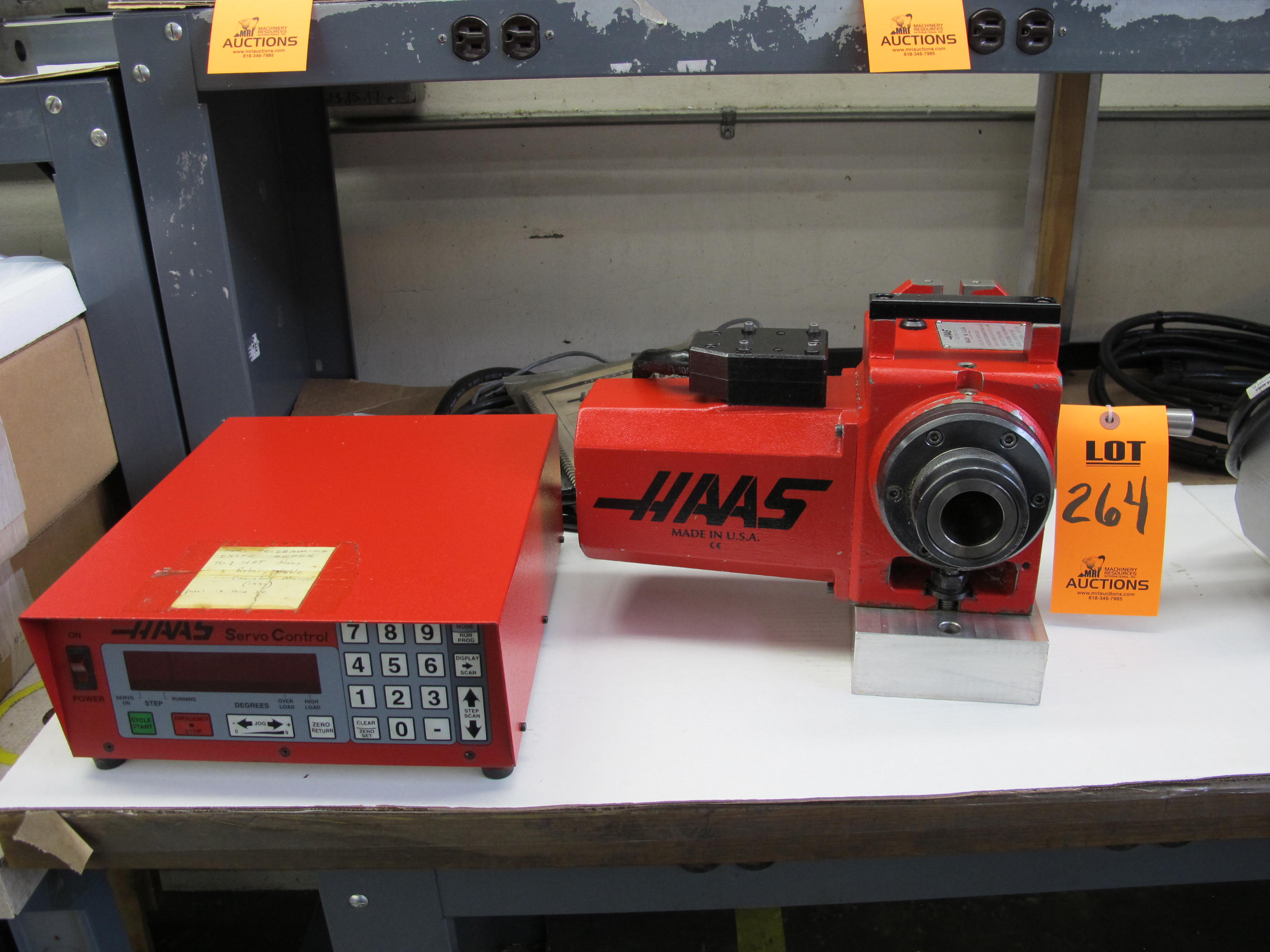 HAAS MODEL HA5CP1 INDEXER, S/N 505715 - HAAS SERVO CONTROL