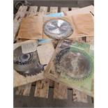 MIXED LOT OF CUTTING BLADES