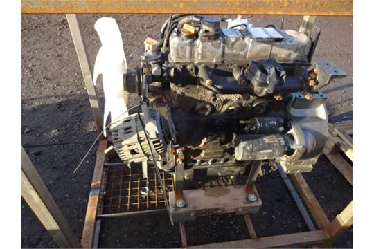 YANMAR 4TNE88-ETB engine (s/n 76357)