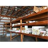 LOT OF ASS'T SUPERIOR SYSTEMS PORCH POSTS, RAILING SECTIONS, POST SLEEVING & CORNER RAILING