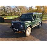 1998 LAND ROVER 110 DEFENDER COUNTY 2.5 SWTDI **22 SERVICE STAMPS**
