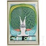 Friedensreich Hundertwasser (1928 - 2000) - Limitierter erotischer Druck