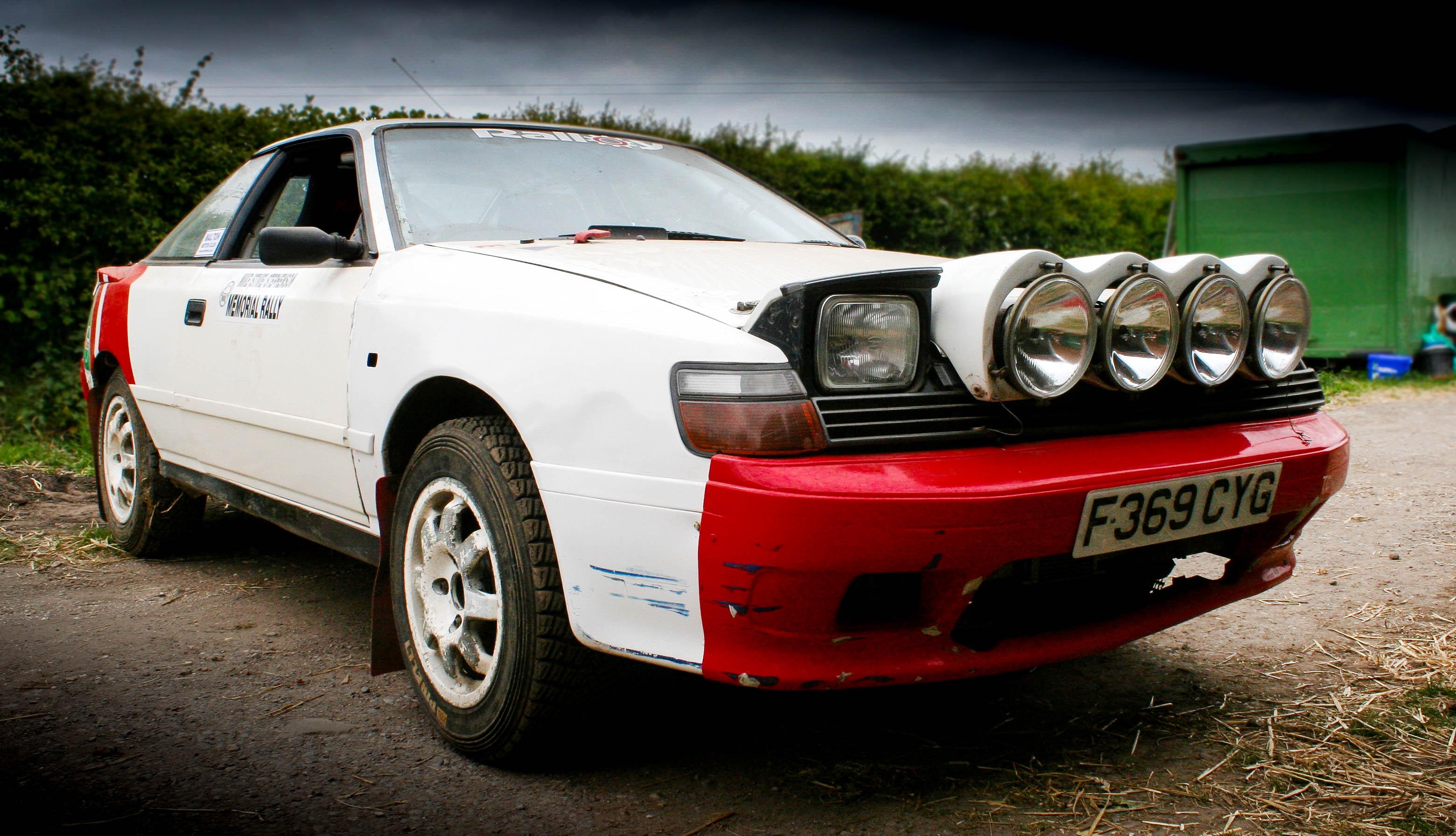 1989 Toyota Celica GT-Four ST165 Group N rally car 1998cc ...