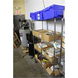 "PORTABLE WIRE SHELVING UNIT, 69"" X 48"" X 18"""