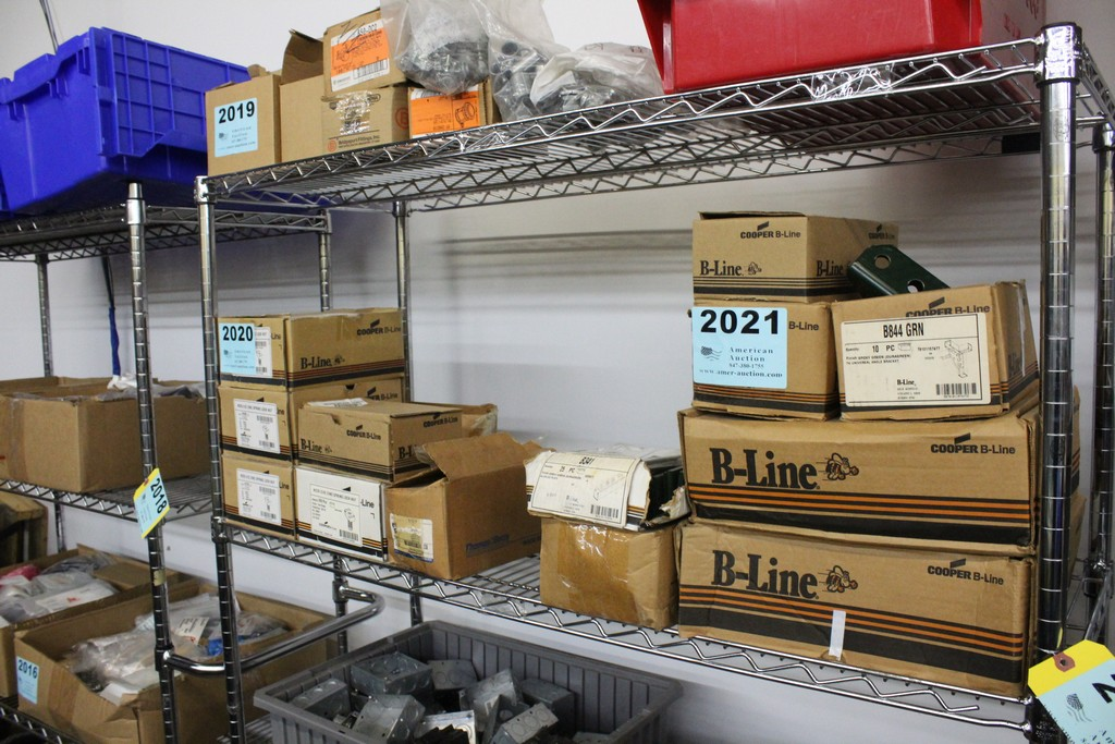 Lot 2021 - WIRING COMPONENTS ON SHELF