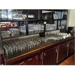 Lot of Bar Glassware