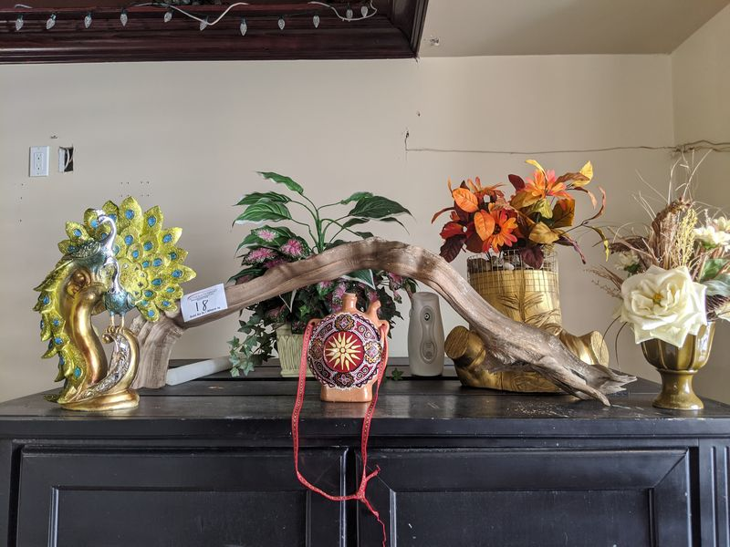 Assorted Plants and Ornaments