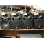 LOT OF 4 JBL LSR 6325P-1 SPEAKERS