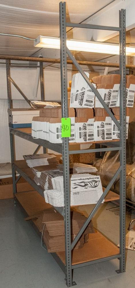 """(13) Sections Steel Racking (18) 8' x 24"""" Uprights, (126) 96"""" 2150 lb Cap Load Beams, No Contents (o - Image 2 of 3"""