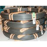 (4) Coils CRSIVAN Steel (1).360 Diam. 2125 lbs, (1) .400 Diam. 2167 lbs., (1) .340 Diam. 2145 lbs.,