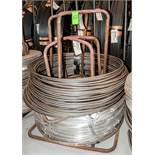 (2) Hats with coils CR SI Alloy .770 Diam. Steel, 3680 lbs. Total. According to tags, Inspect, See P