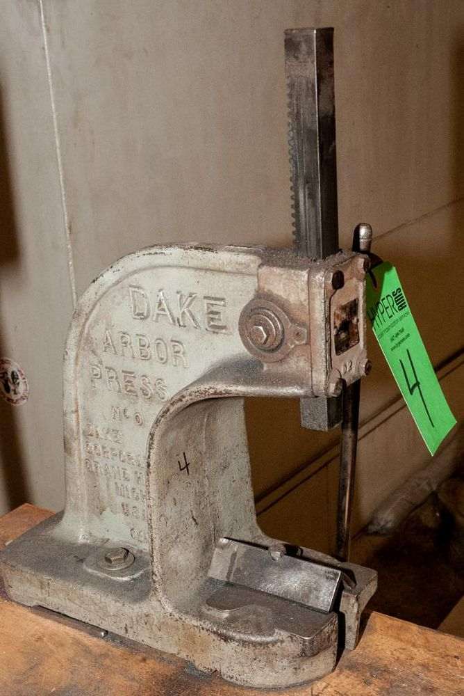 Dake Arbor Press No. 0 - Image 2 of 2