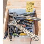 Locking Pliers, Aviation Shear, Cresent type adjustable wrenches, Files