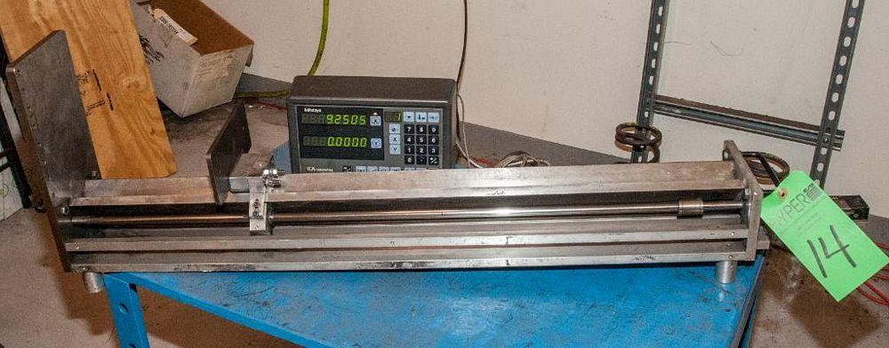 Mitutoyo KA Counter Length Gauge, Mdl KA-12, s/n 3565605