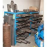 (2) Racks of Various Mandrels for Coiler